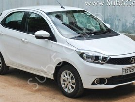 Tata Tiago XZA 2017 AT for sale in Hyderabad