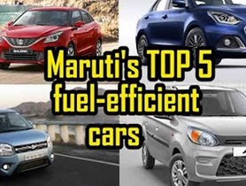 Best Fuel Efficient BS6 Maruti Suzuki Cars in India – From New Dzire AMT to S-Presso