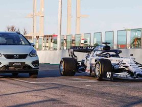 Honda Jazz Hybrid Draws Inspiration From Company's F1 Car