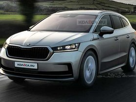 Skoda Enyaq EV Rendered, Launch Later This Year