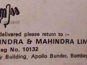 Mahindra & Mahindra's Old, Humble Logos Give Us A Small Peek Into the Company's History