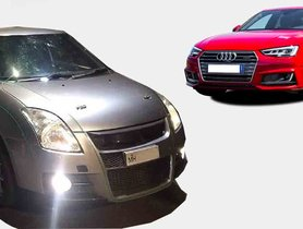 This 1st Gen Maruti Swift is More Powerful than an Audi A4 TFSI