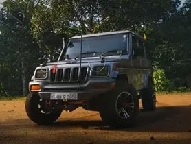 This Is A Really Impressively Modified Off-Road Mahindra Bolero