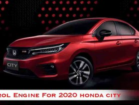New-Gen Honda City To Feature A More Modern Engine Than Current Model