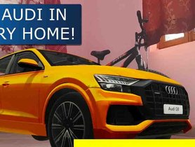 Now 'Open' an Audi Dealership Inside Your Home Using AR