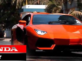 Built for Rs 25 Lakh, This Lamborghini Aventador is Based on an Old Honda Accord
