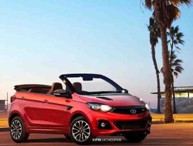 Tata Tiago JTP Digitally Imagined As A Convertible