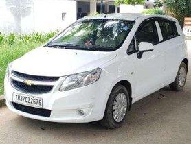 Chevrolet Sail U-VA 1.3 LT ABS, 2013, Diesel MT for sale in Coimbatore