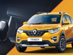 Renault Triber AMT Is The Cheapest 7-seater Automatic Car In India