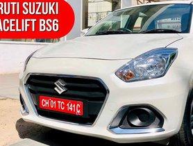 2020 Maruti Dzire Facelift Starts Reaching Dealerships
