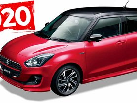 2020 Maruti Swift Facelift To Look Almost Same As Current Model - OFFICIAL