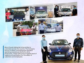 Maruti Delivers Record 5,000 Vehicles Amidst Nationwide Lockdown