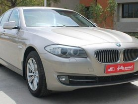 Used 2013 BMW 5 Series 520d Sedan AT for sale in Ahmedabad