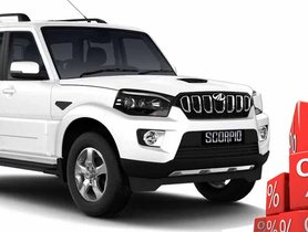 Attractive Discounts on Mahindra Scorpio for May 2020