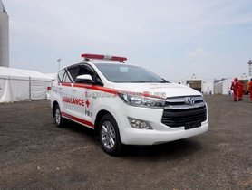 Toyota Innova Crysta Ambulance Donated to Indonesian Red Cross and Ministry of Health