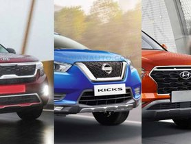 New Nissan Kicks BS6 vs 2020 Hyundai Creta vs Kia Seltos – Spec Sheet Compared