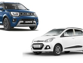 Maruti Ignis Vs Hyundai Grand i10 – Discounts Comparison For May 2020