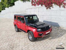 Mahindra Bolero Modified Into Land Rover Defender