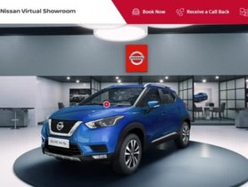 BS6 Nissan Kicks On Display at Company's Virtual Showroom