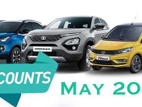 Tata May 2020 Car Offers On Tiago, Tigor, Nexon, Harrier