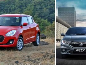 Best Looking Affordable Cars in India - Maruti Swift to Honda City
