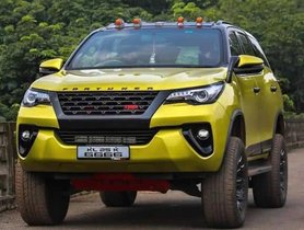This Modified Toyota Fortuner is a LOOKER!