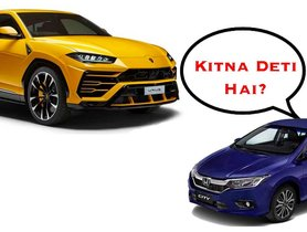 Here's The DIFFERENCE in Mileage of a Lamborghini Urus and a Honda City [VIDEO]