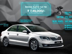 BS6 Skoda Rapid Launched In India At Rs 7.49 Lakh