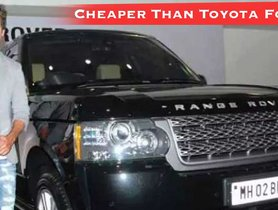 Shahid Kapoor's Range Rover Is On Sale, CHEAPER Than New Toyota Fortuner