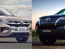 VW Amarok (Toyota Fortuner Rival) Imagined Digitally