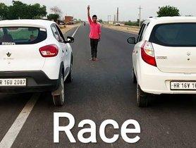 Maruti Alto K10 Vs Renault Kwid - Which Car Wins In a Drag Race?