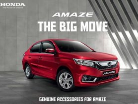 Honda Amaze Accessories: Full List With Prices