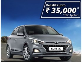Hyundai Offering Elite i20 With Discounts Of Upto Rs. 35,000, Amidst Lockdown