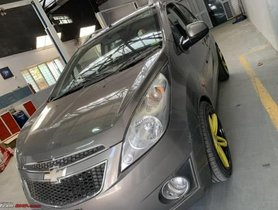 This Chevrolet Beat Runs on Electricity