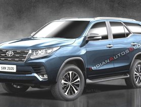 Refreshed Toyota Fortuner To Be Revealed On June 4