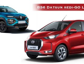 BS6 Datsun redi-GO Launched, Rs. 9,000 CHEAPER Than Mechanical Twin Renault Kwid