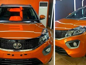 Old Tata Nexon Looks Brand Spanking New With Ceramics Coat and Aftermarket Alloys