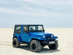 BlueBull, A Modified Mahindra Thar That Nicely Imitates The Jeep Wrangler