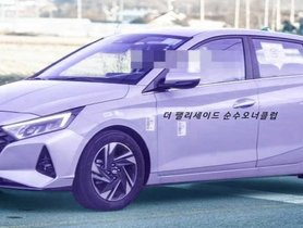 2020 Hyundai i20 Spied Sans Camouflage During Road Test