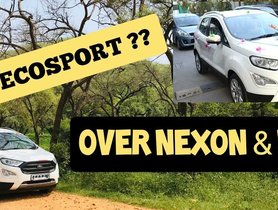 Ford EcoSport Owner Explains Why He Didn't Buy a Honda WR-V or Tata Nexon [Video]