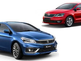 Maruti Ciaz 3 Times More Popular Than Skoda Rapid