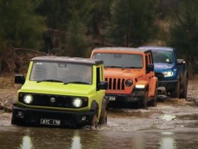 Suzuki Jimny vs Ford Ranger Raptor vs Jeep Wrangler Rubicon- Off-roading Challenge [Video]