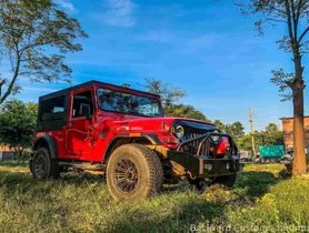 This Modified Mahindra Thar Looks CLASSY and RUGGED