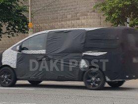 2021 Hyundai H-1 (Toyota Innova Crysta Rival) Spied Again