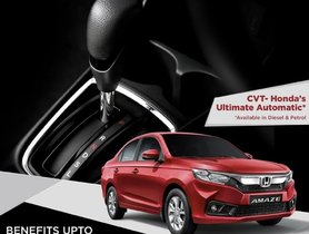 Honda Amaze Gets Discounts of Rs. 32,000, Includes 5-Year Warranty, 3 Year AMC & More