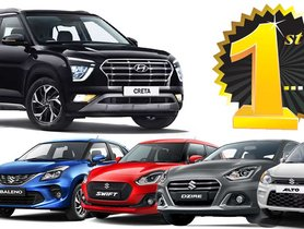 New Hyundai Creta Outsells Maruti Alto, Swift, Baleno, Dzire in May 2020