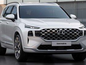 2021 Hyundai Santa Fe Unveiled Globally, Features A Futuristic Face To Rival Skoda Kodiaq