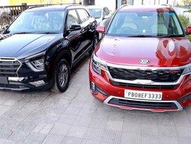 Hyundai Creta SX(O) vs 2020 Kia Seltos GTX+