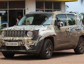 Hyundai Creta Rivaling Jeep Renegade Snapped On Indian Soil Again