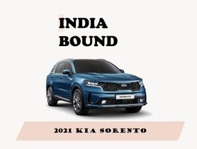India-bound Kia Sorento (Toyota Fortuner Rival)– Here's What We Know So Far